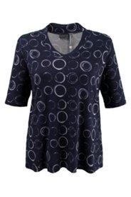 Shirt mit Elasthan, Halbarm
