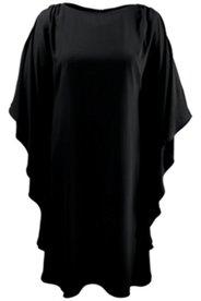 Kleid mit Design-Ärmeln, Chiffon