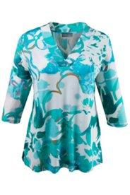 Shirt in hochwertiger Slinky-Qualität, 3/4-Arm