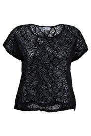 Mesh-Shirt mit hübschem Netzmuster