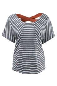 Shirt, hinten tief ausgeschnitten mit breiten Bändern