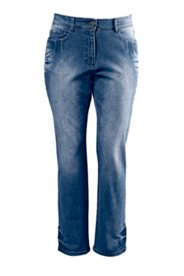 Jeans mit geradem Bein in 5-Pocket-Form