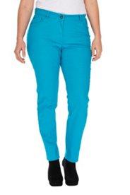 Jeans, Skinny-Form, farbiges Denim, 5-Pocket, Strech