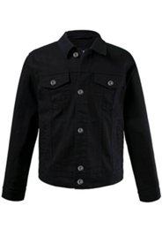 Jeansjacke, Brusttaschen, Metallknöpfe, Saum & Ärmel weitenverstellbar