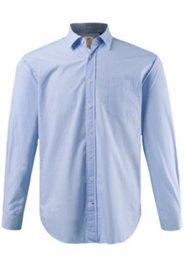 Streifenhemd, Modern Fit, Baumwolle, Oxford-Details