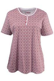 Pyjama-Oberteil mit Kleeblattmuster, 100 % Baumwolle