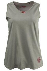 Pyjama-Top mit Kleeblattmotiv, 100 % Baumwolle
