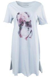 Bigshirt, Motiv Eichhörnchen, 100 % Baumwolle
