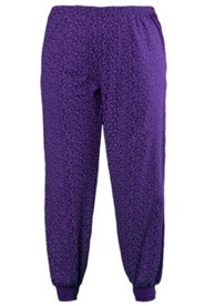 Pyjamahose mit Punktmuster, 100 % Baumwolle