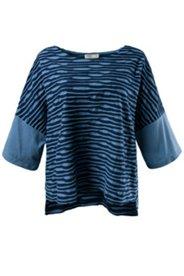 Shirt, Bio-Baumwolle, Fancy-Jersey, uni 3/4-Ärmel