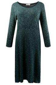 Kleid, Jacquard-Muster, Bio-Baumwoll-Feinstrick