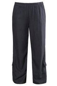 Hose aus Tencel® mit weitem Bein