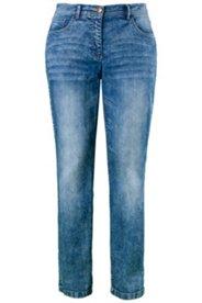 Jeans, Regular Fit, Stretchdenim, gerades Bein