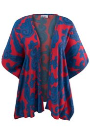 Kimonobluse mit Paisleymuster, offenes Modell
