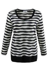 Shirt aus modischem Jacquard-Jersey