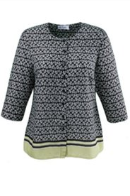 Bluse in A-Linie, 3/4-Arm