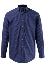 Karohemd, Buttondown-Kragen, Comfort Fit, Manschetten