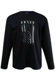 Schlafanzug-Oberteil CECEBA, Mix&Match, Rundhalsausschnitt, USA Motiv