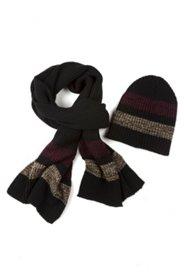 Geschenk-Set aus Mütze und passendem Schal