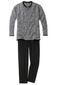Schlafanzug CECEBA, zweiteilig, Knöpfe, Gesäßtasche