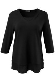 Shirt in 2-in-1-Optik, Stretchkomfort