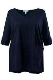 Shirt, Fledermausärmel, oversized, Biobaumwolle