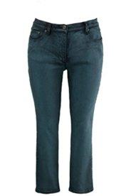 Jeans, Slim Legs, Used-Effekte, Softer Denim