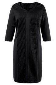 Kleid mit Herzausschnitt und raffiniertem Rückenausschnitt, leicht tailliert