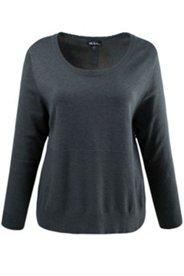 Pullover, Strukturstrick, Zier-Knopfleiste hinten