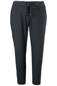 Businesshose, Rippbund mit Kordel, knitterarm, Stretchkomfort