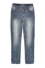 Jeans, gerade geschnitten, Strech, 5-Pocket-Form