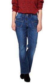 Jeans, Bootcut, ausgestelltes Bein, Taschen