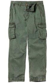 Cargohose, Regular Fit, 6 Taschen, Futter mit Palmendruck