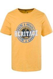 T-Shirt, Outdoor-Motiv, Rundhalsausschnitt, Halbarm