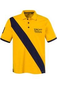 """Poloshirt, Querstreifen vorne und """"8"""" hinten"""