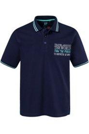 Poloshirt, Sailing-Stickerei, Halbarm, Streifen am Kragen, Pikee-Qualität