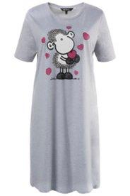 Nachthemd, Schäfchen-Motiv, Baumwollgemisch