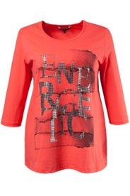 Shirt, Metallic-Schimmer, Elasthan