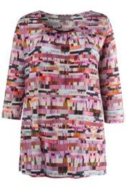 Shirt, Ausschnitt mit Metallic-Spange, Slinky-Qualität