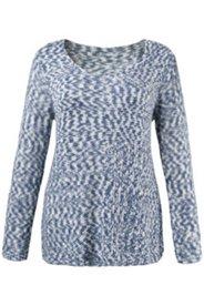 Pullover, Strickmuster, weite Schultern