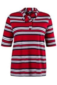 Shirt, Stehkragen zum Binden, Stretchkomfort