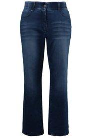 Jeans, gerades Bein, Komfortbund, Stretch