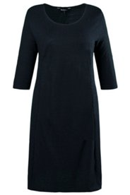 Jerseykleid, körpernahe Form, 3D-Jacquardjersey