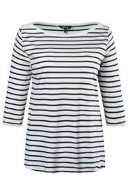 Shirt, Schulterknöpfe, U-Boot-Ausschnitt