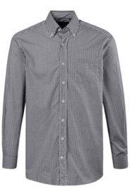 Hemd, Comfort Fit, Buttondown-Kragen, bügelleicht, Brusttasche