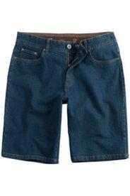 Jeans-Bermuda, elastischer Komfortbund, Regular Fit, 5-Pocket