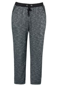 Jogging-Pants, Kordelzug, kegelförmiger Beinverlauf, Rundum-Gummibund