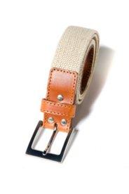 Stoffband-Gürtel mit Stretch-Komfort