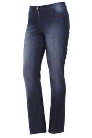 Jeans mit Bügelfalte, gerades Bein