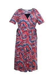 Kleid mit Tunnelzug, 2-in-1-Look